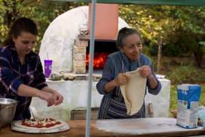 Join Us for a Pizza Brunch in Siglinda's Garden
