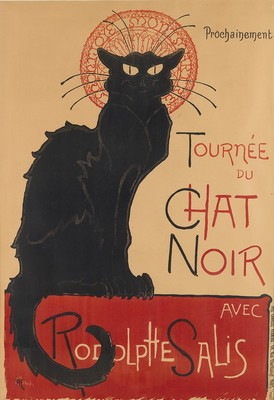 Steinlen's Cat Tops Vintage Posters Sale at Swann Galleries